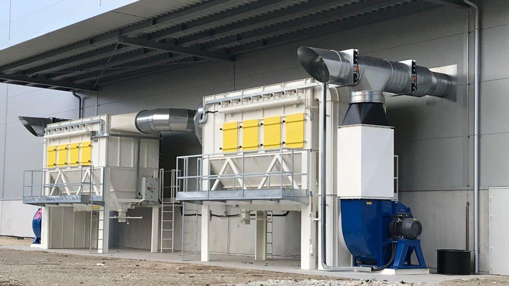 Filtracijski in separacijski sistemi blast tehnik