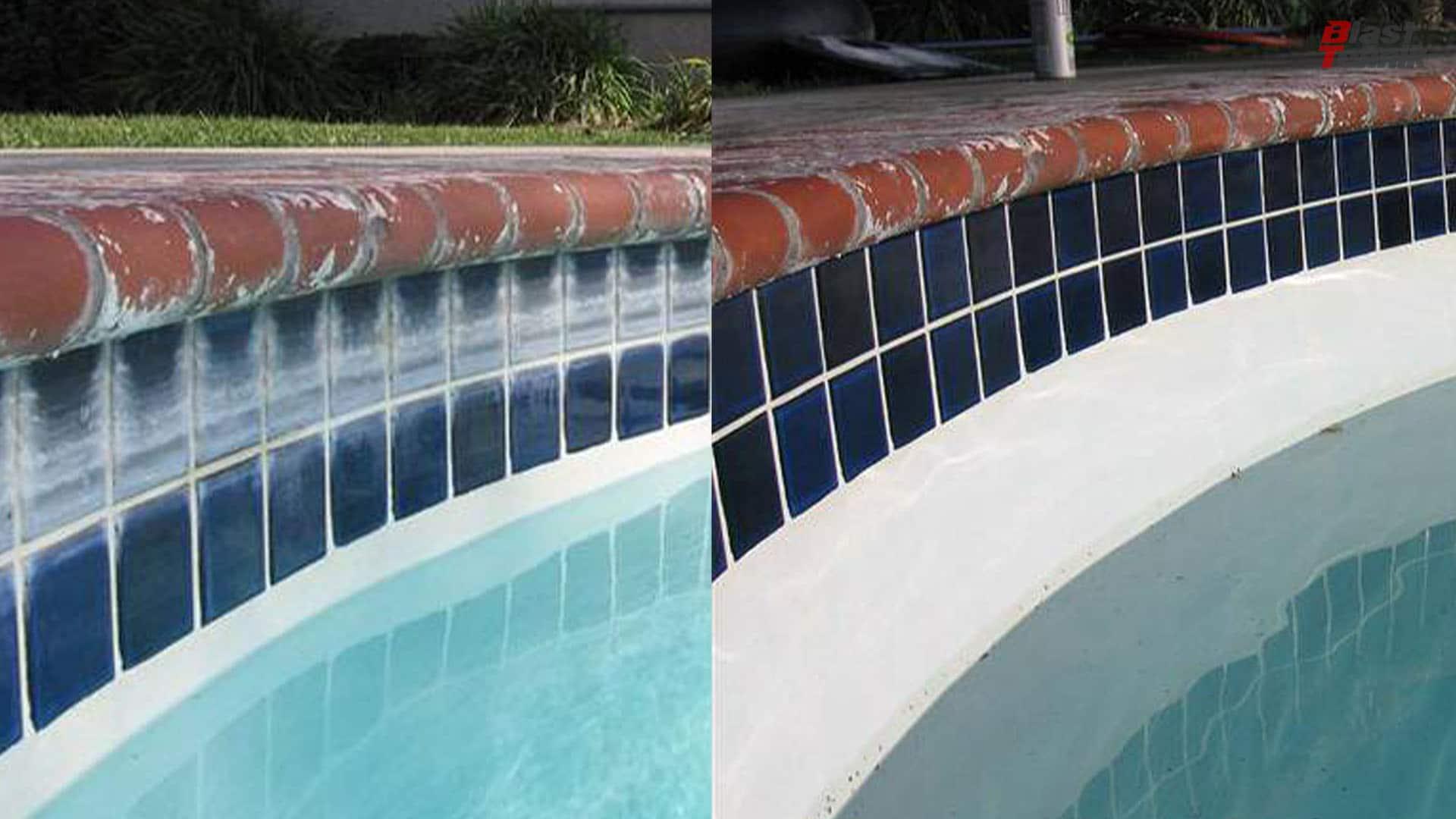 Čiščenje bazenov in keramičnih ploščic